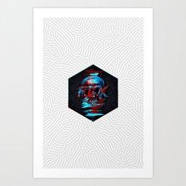 FCK Art Print