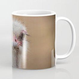 Common Ostrich portrait Coffee Mug