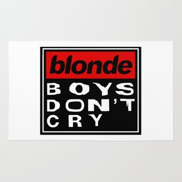 Blonde Boys Don't Cry Rug
