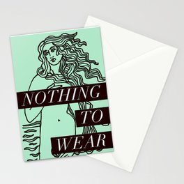 Birth of Venus - Nothing to Wear Stationery Cards