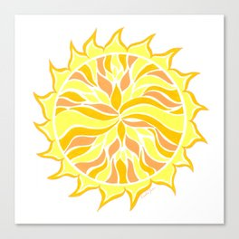 Sol Flow :: Color Therapy Collection :: Canvas Print