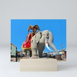 Lucy The Elephant Mini Art Print