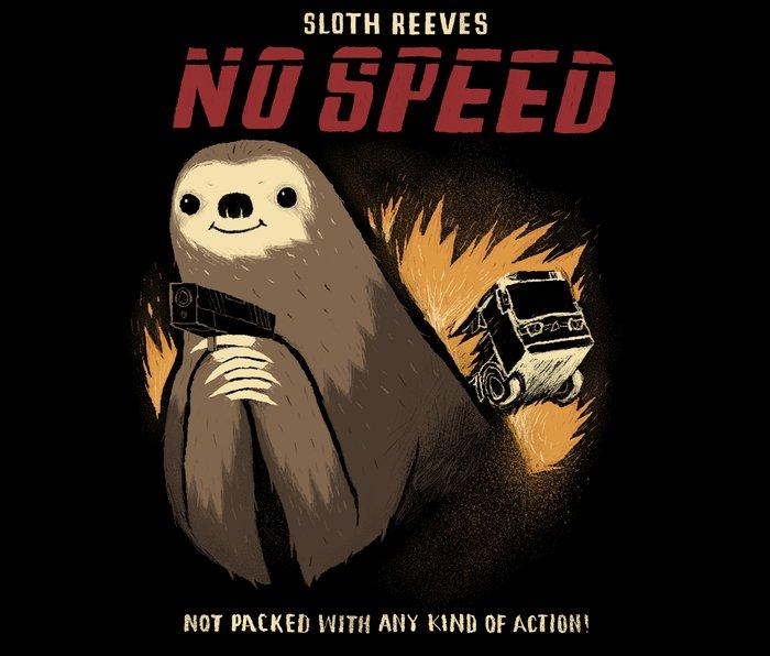 no speed. Metal Travel Mug