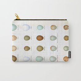 Vintage Bird Eggs  Carry-All Pouch