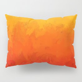 Scarlet and Gold Heat Pillow Sham