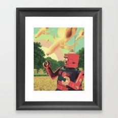 Mañana Framed Art Print