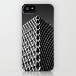 frequency.mono iPhone Case