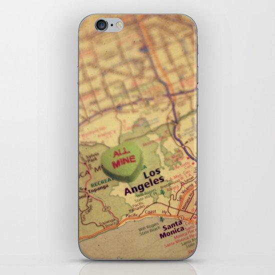 All Mine Los Angeles iPhone & iPod Skin