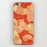 tangled iPhone & iPod Skins featuring Tangled by Anita Ivancenko