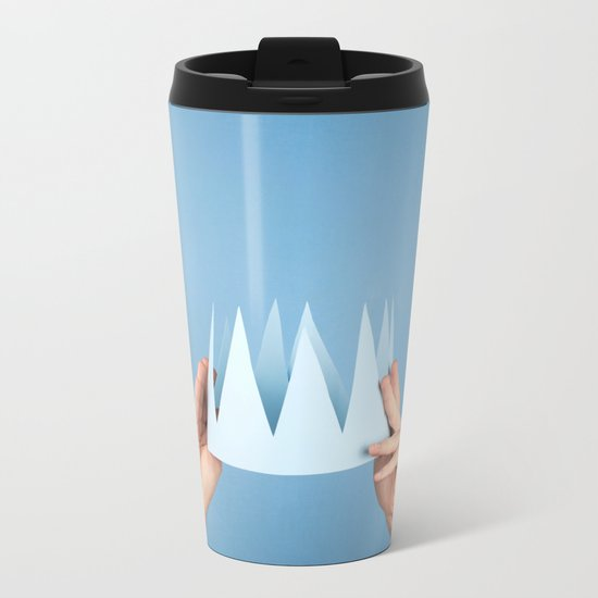 Coronation day Metal Travel Mug