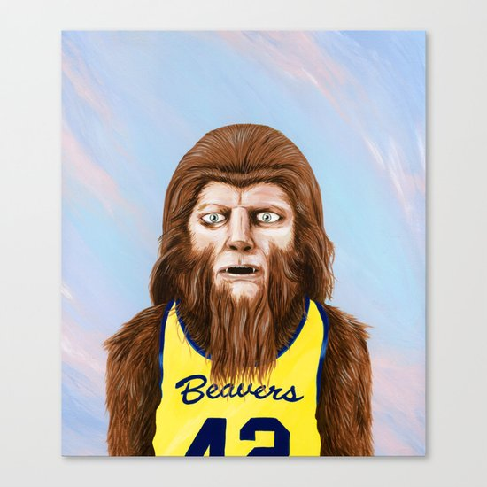Teenwolf Canvas Print