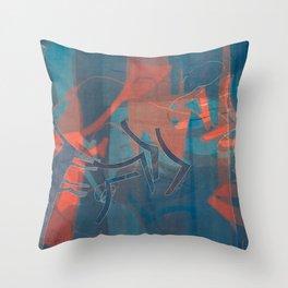 Twilight Dance Throw Pillow