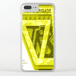 """"""" THE ROYAL BRIGADE """" comic Clear iPhone Case"""