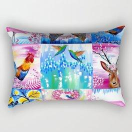 Imaginary Menagerie Rectangular Pillow