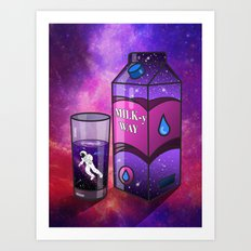 Got Milky way? Art Print