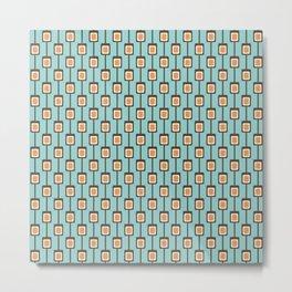 Bead Curtain Metal Print
