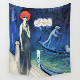 The Quai, Venice by Kees Van Dongen Wall Tapestry