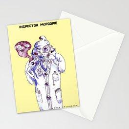 Inspector McPoopie (poop detective) - Dario Splendido Stationery Cards