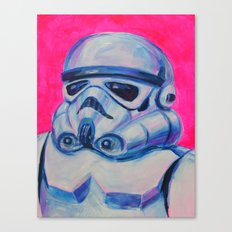 stormtrooper baby Canvas Print