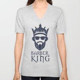 Barber King Unisex V-Neck