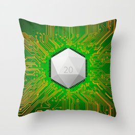 MMORPG Know Your Roots Throw Pillow