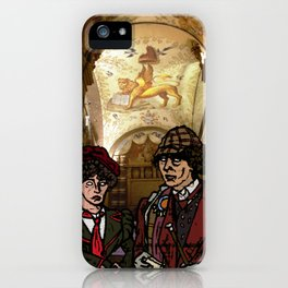 little hats all around iPhone Case