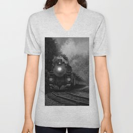 Lehigh Gorge Railroading Unisex V-Neck