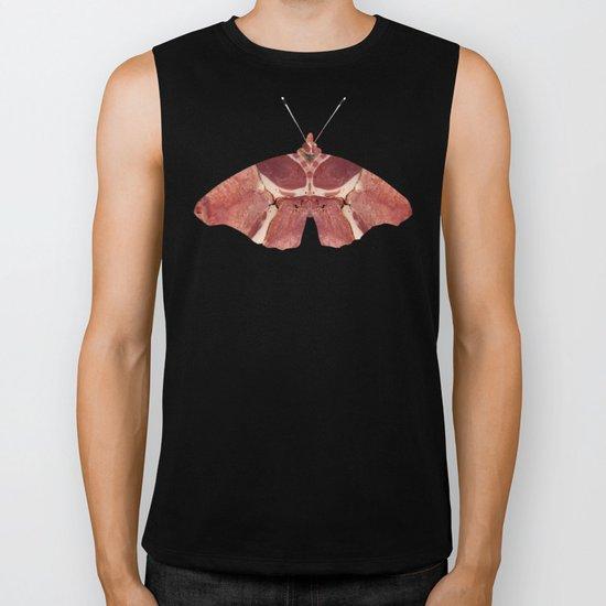 Meat the Butterfly Collage - Obst ist kein Gemüse Biker Tank
