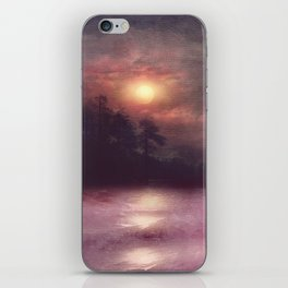 Hope in the pink water iPhone Skin