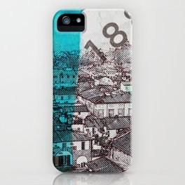 Lucca  roofs iPhone Case