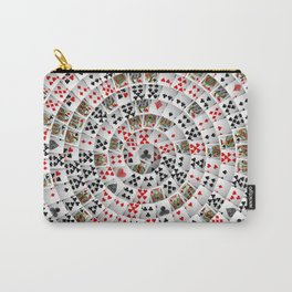 Playing cards swirl Carry-All Pouch