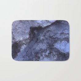 Organic Texture Deep Indigo Bath Mat