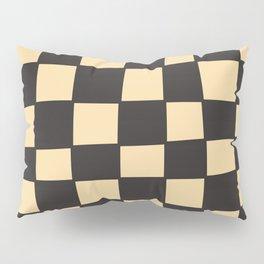 Grunge Imperfect Checkerboard Pillow Sham