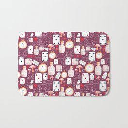Alice in Wonderland - Purple Madness Bath Mat