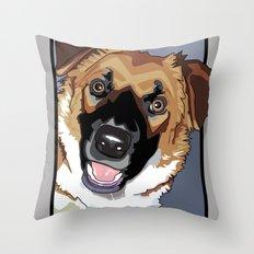 Trina Dog Throw Pillow