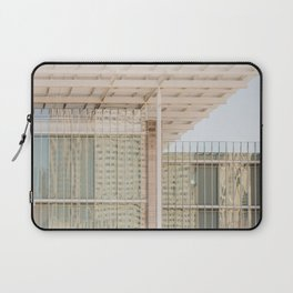 All in Shades of White -  Chicago Architecture Photography Laptop Sleeve