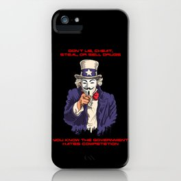 DON'T! iPhone Case