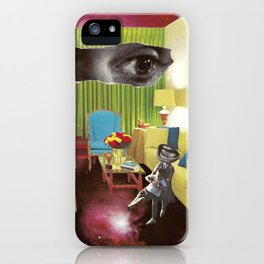 Eyes across the Universe iPhone Case