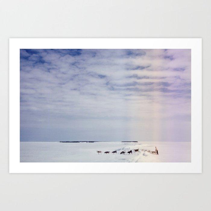 Across the Lake Art Print