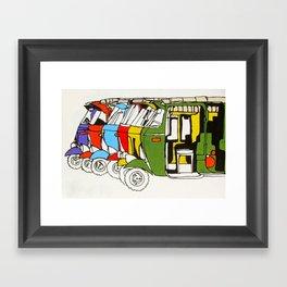 Tuk Tuks Framed Art Print