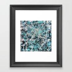 Imogene in Topaz Framed Art Print