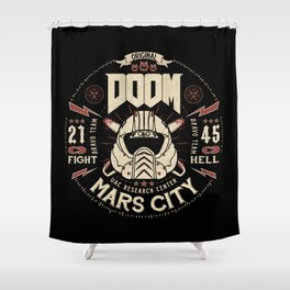 Doom - Fight Hell Shower Curtain