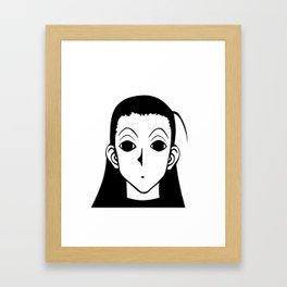 Illumi HunterXHunter Framed Art Print