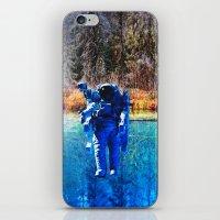astronaut iPhone & iPod Skins featuring Astronaut by John Turck