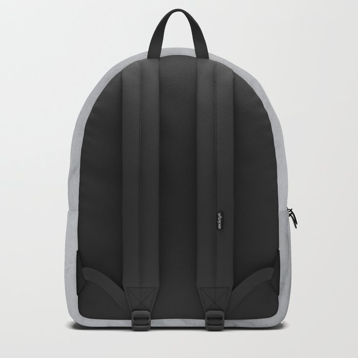 Sophisticated Polished White Marble Backpack