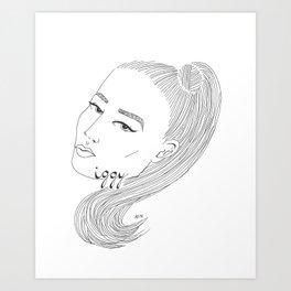 I-G-G-Y Art Print