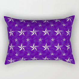 Stella Polaris Violet Design Rectangular Pillow