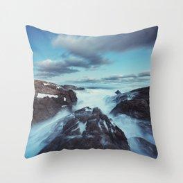 Deceptive Calm Throw Pillow