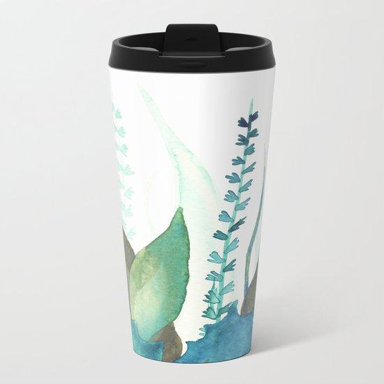 Botanical vibes 04 Metal Travel Mug