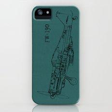 FW - 190 (Colour) Slim Case iPhone (5, 5s)